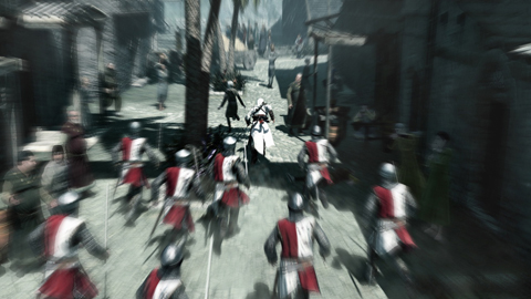 Altair making a run for it